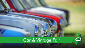 Book a Car & Vintage Fair pitch