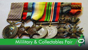 Book a pitch at the military & Collectors fair